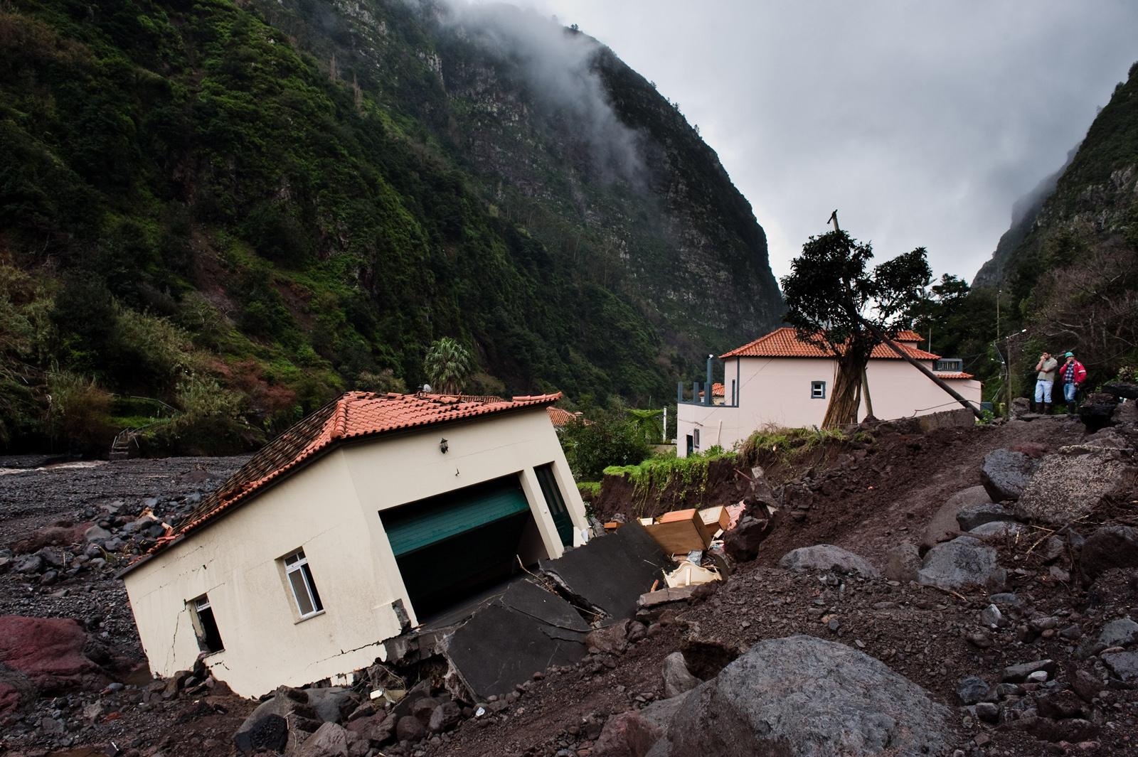 FLOODS IN MADEIRA ISLAND