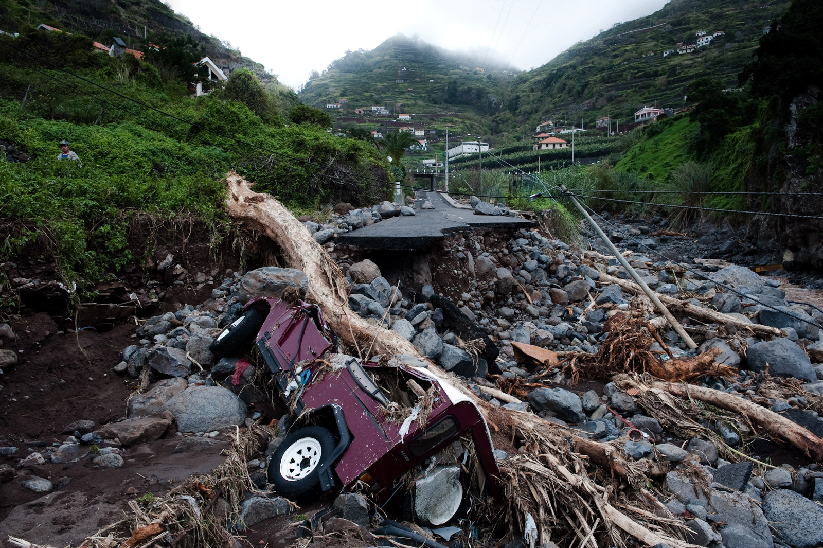FLOODS IN MADEIRA ISLAND