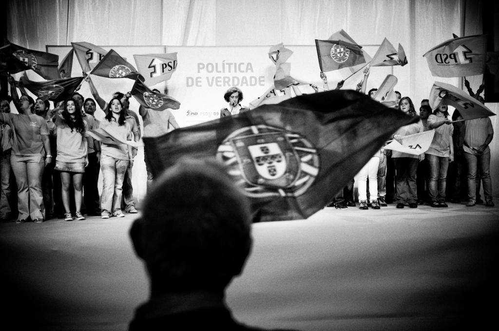 Legislative Elections 2009 in Portugal - PSD
